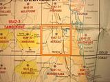 Nerang 25k Topo Map