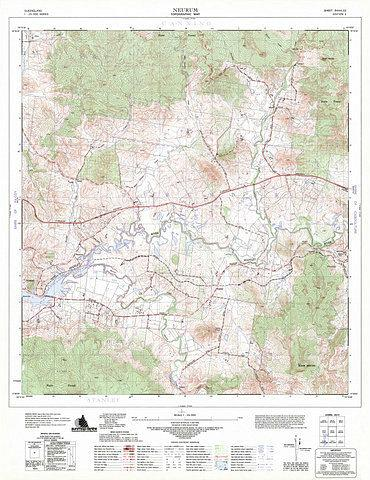 Neurum 25k Topo Map