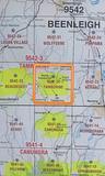 Tamborine 25k Topo Map