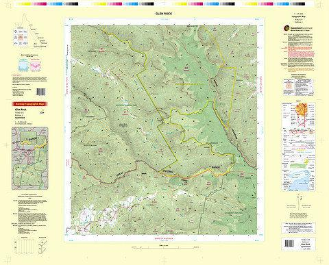 Glen Rock 25k Topo Map