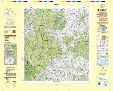Townson 25k Topo Map