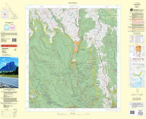 Beechmont 25k Topo Map