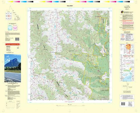Hillview 25k Topo Map