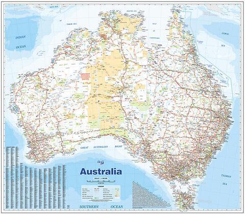 Australia Super 1370 mm x 1200 mm