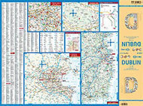 Dublin Folded Map - Borch