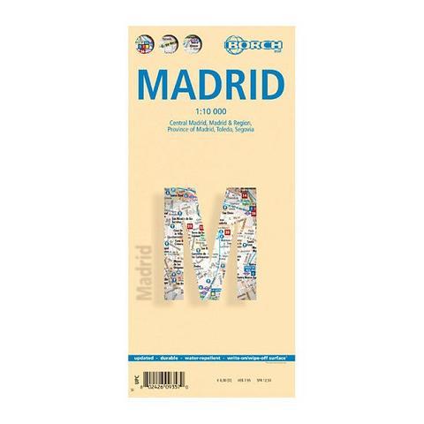 Madrid Folded Map - Borch