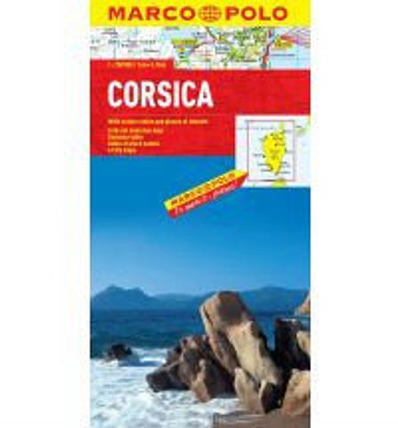 Corsica - Folded Map