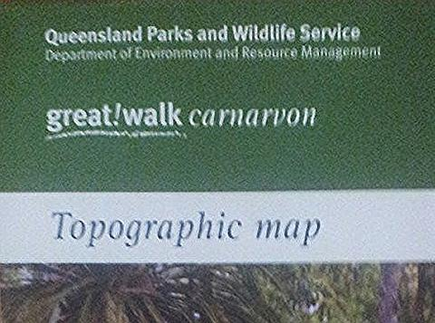 Carnarvon Great Walks Map
