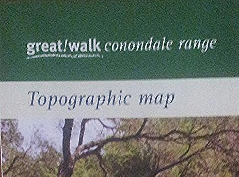 Conondale Great Walk Map