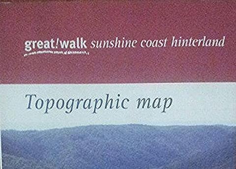 Sunshine Coast Hinterland Great Walks Map