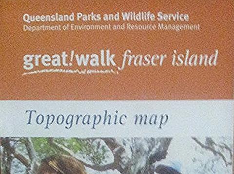 Fraser Island Great Walks Map