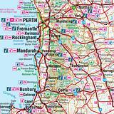 Western Australia State Map Hema 1000x700mm