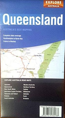 Queensland - Folded Map