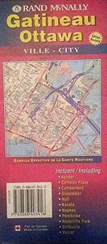 Ottawa Gatineau City Map