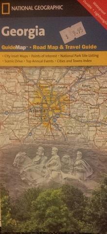 Georgia, USA State Map