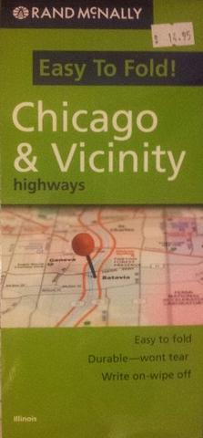 Chicago & Vicinity Highways Laminated