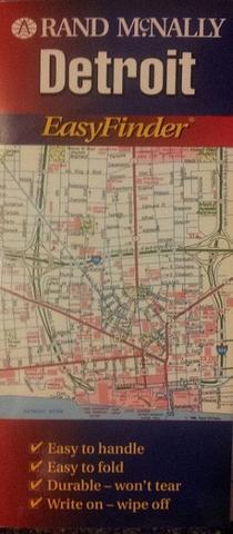 Detroit City Map