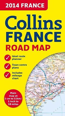 France - Road Map