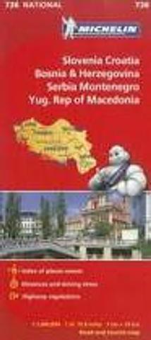 Slovenia, Croatia, Bosnia & Herzegovina, Serbia, Montenegro, Yug. Rep of Macedonia