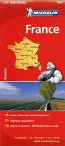 France - Folded Map