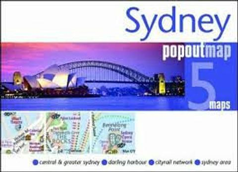 Sydney - City Map - Pop Out
