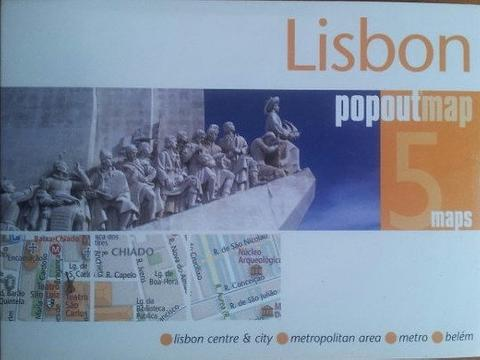 Lisbon - City Map - Pop Out