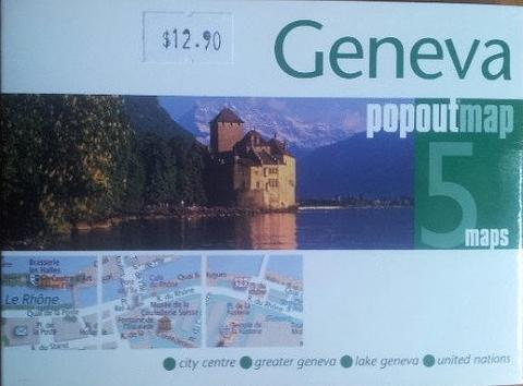 Geneva - City Map - Pop Out