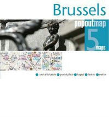 Brussels - City Map - Pop Out