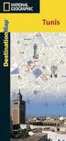 Tunis - City Map by National Geographic