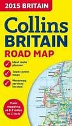 Britain - Road Map by Collins