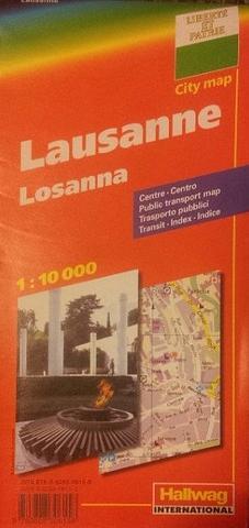 Lausanne - City Map