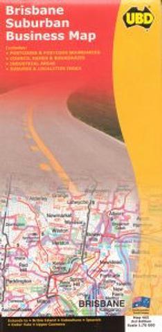 Brisbane Suburban Map