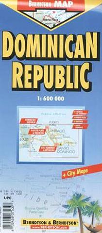 Dominican Republic - City Map