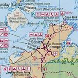 Cape York - folded map