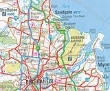 Brisbane and Region - folded map