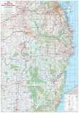 North East New South Wales - folded map