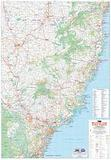 Mid North Coast & New England, NSW - folded map