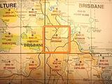 Brisbane - 25k topo