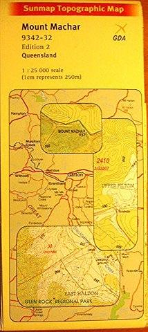 Mount Machar - 25k topo