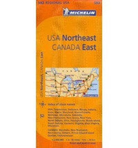 USA Northeast Canada East - Michelin
