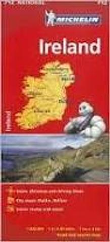 Ireland - folded map by Michelin