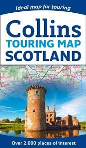 Scotland - Road map by Collins