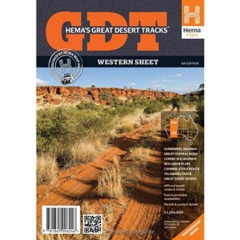 Great Desert Tracks - Western Sheet