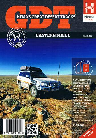 Great Desert Tracks - Eastern Sheet