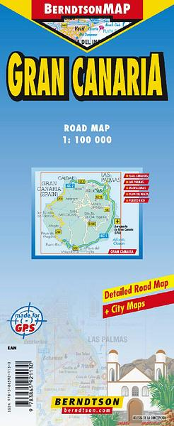 Gran Canaria - Canary Islands — WORLD WIDE MAPS on