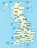 Scotland - Road Map by AA - No 9 in the AA Series