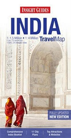 India - Travel Map by Insight Guides