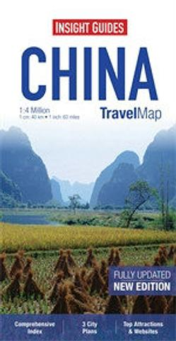 China - Travel Map by Insight Guides