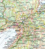 Japan - folded waterproof map by ITM