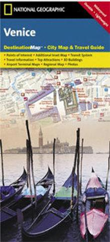 Venice - City Map & Travel Guide by National Geographic